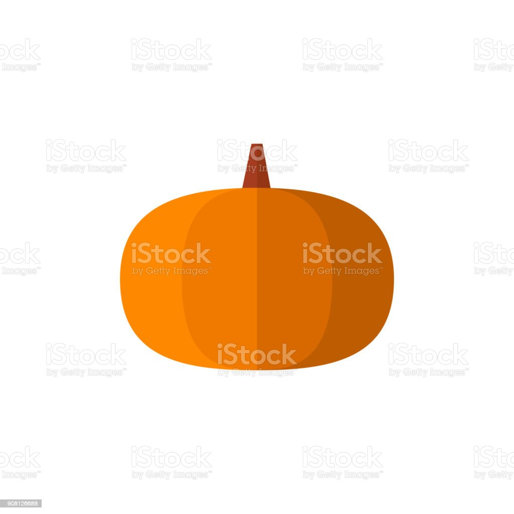 hight resolution of flat icon pumpkin royalty free flat icon pumpkin stock vector art amp more