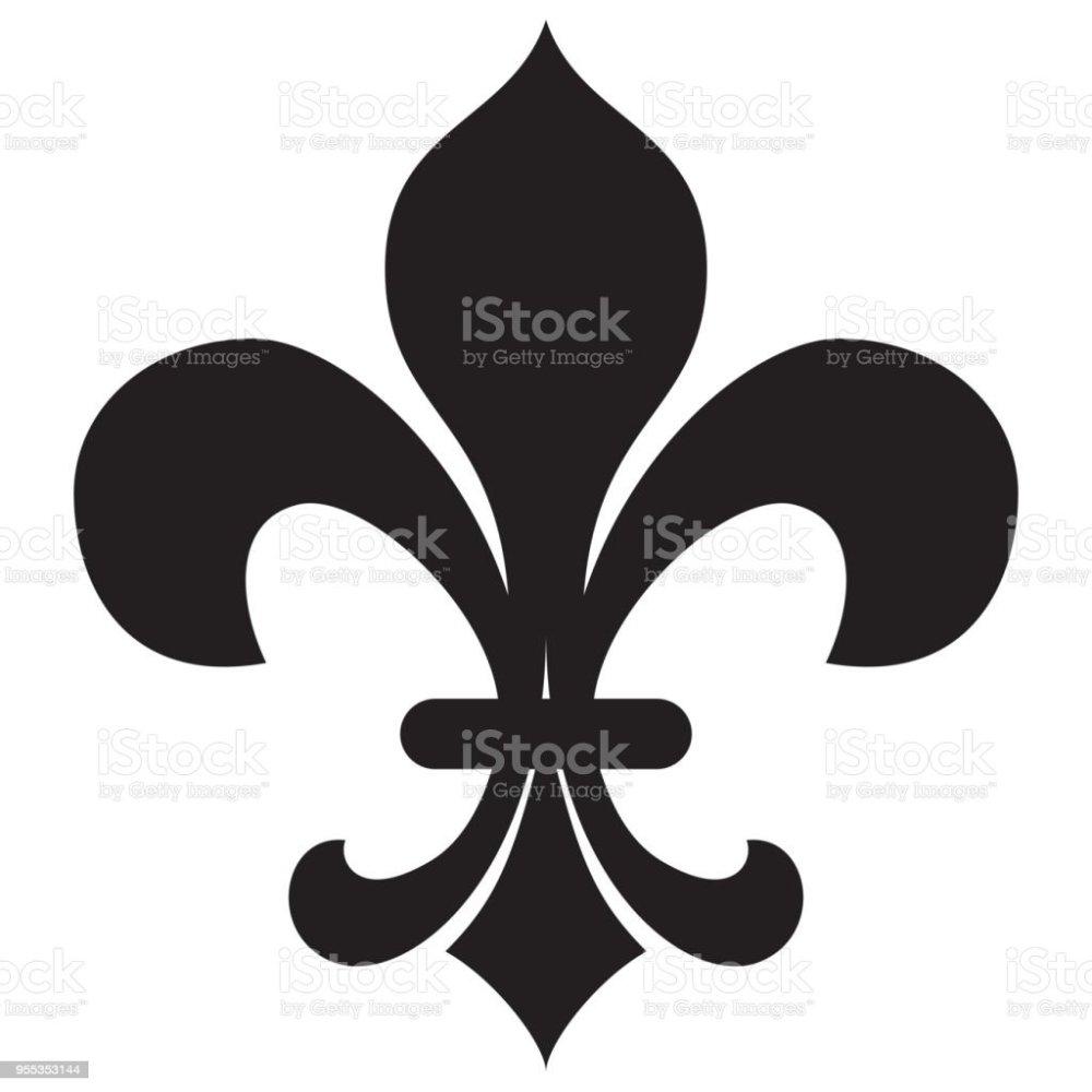 medium resolution of fleur de lis royalty free fleur de lis stock vector art amp more images