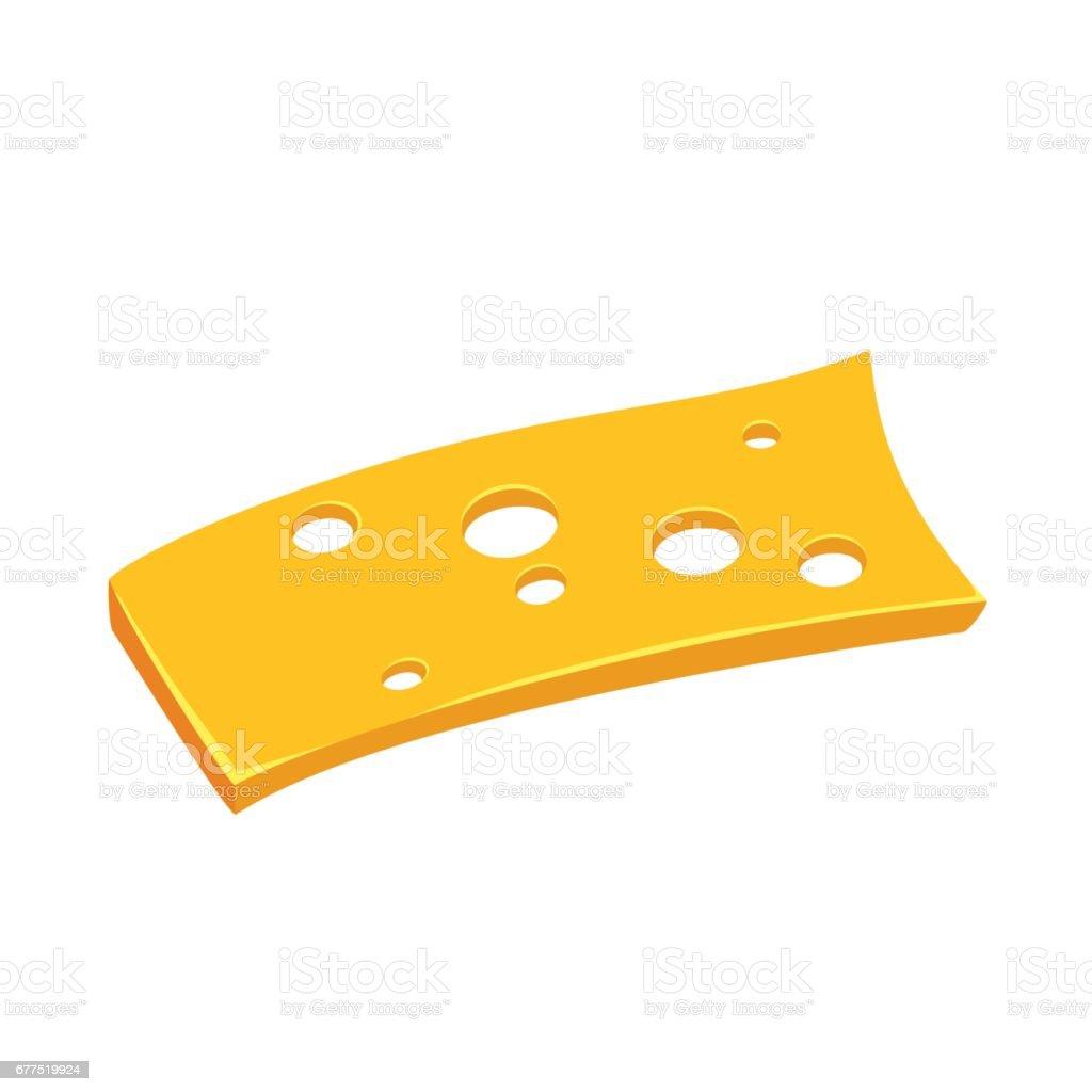 swiss cheese slice illustrations