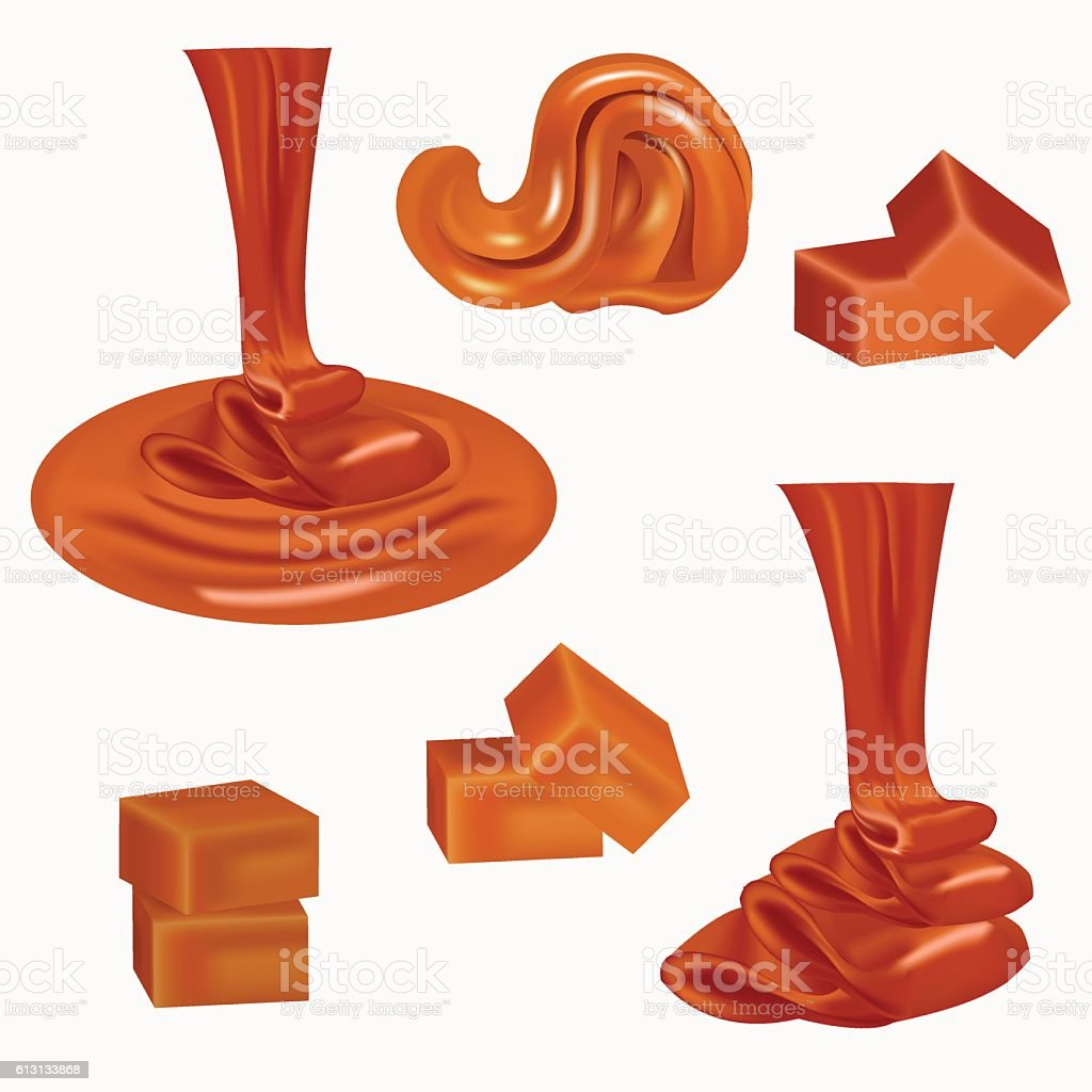 royalty free toffee clip art vector