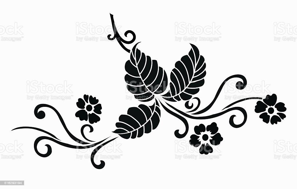 Flower Motif For Design Stock Vector Art & More Images of