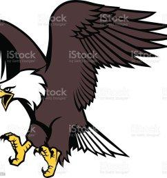 flying eagle mascot illustration  [ 1024 x 977 Pixel ]
