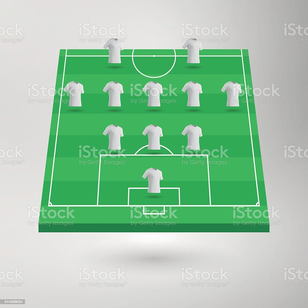 diagram of football ground with measurements cat5e phone jack wiring フットボールピッチサッカー場のセクションにシャツ 3dのベクターアート素材や画像を多数ご用意 544359034