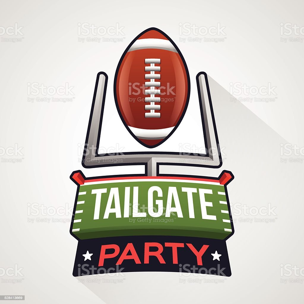 tailgate party clip art vector