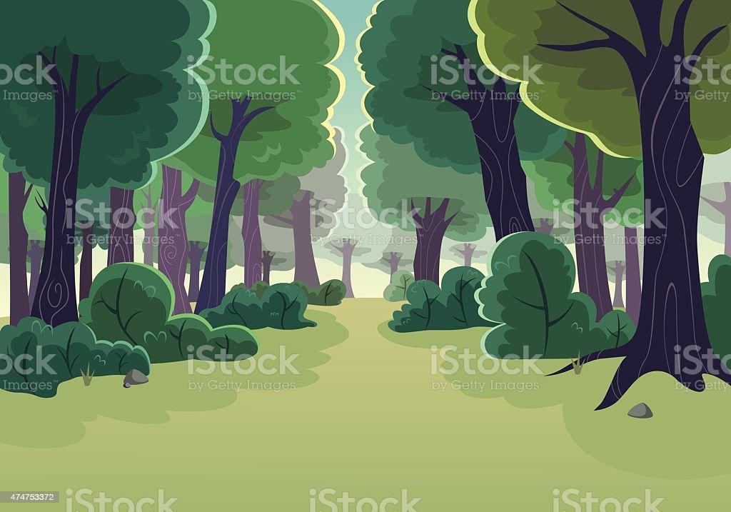 Best Forest Illustrations RoyaltyFree Vector Graphics