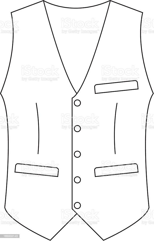 Formal Waistcoat Template Stock Vector Art & More Images
