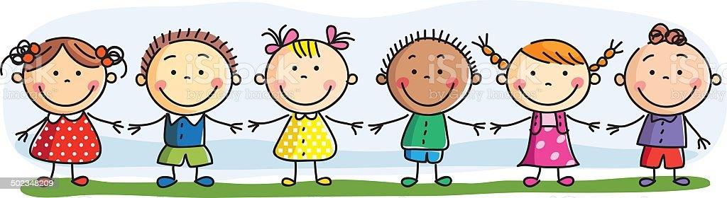 preschool children illustrations
