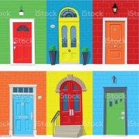 Door Clip Art, Vector Images & Illustrations - iStock