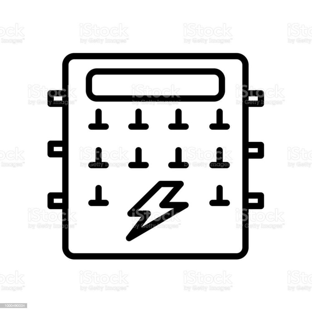 medium resolution of fuse box icon isolated on white background royalty free fuse box icon isolated on white