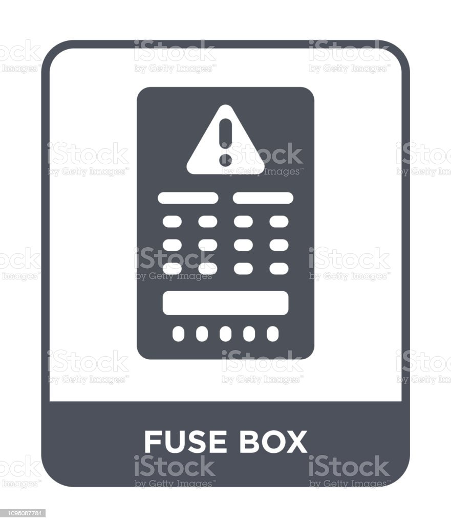 medium resolution of fuse box icon vector on white background fuse box trendy filledfuse box icon vector on white