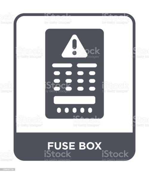 small resolution of fuse box icon vector on white background fuse box trendy filledfuse box icon vector on white