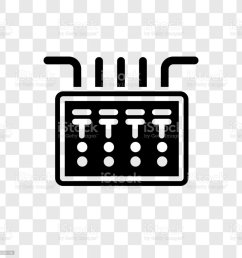 fuse box vector icon isolated on transparent background fuse box transparency logo design royalty  [ 1024 x 1024 Pixel ]