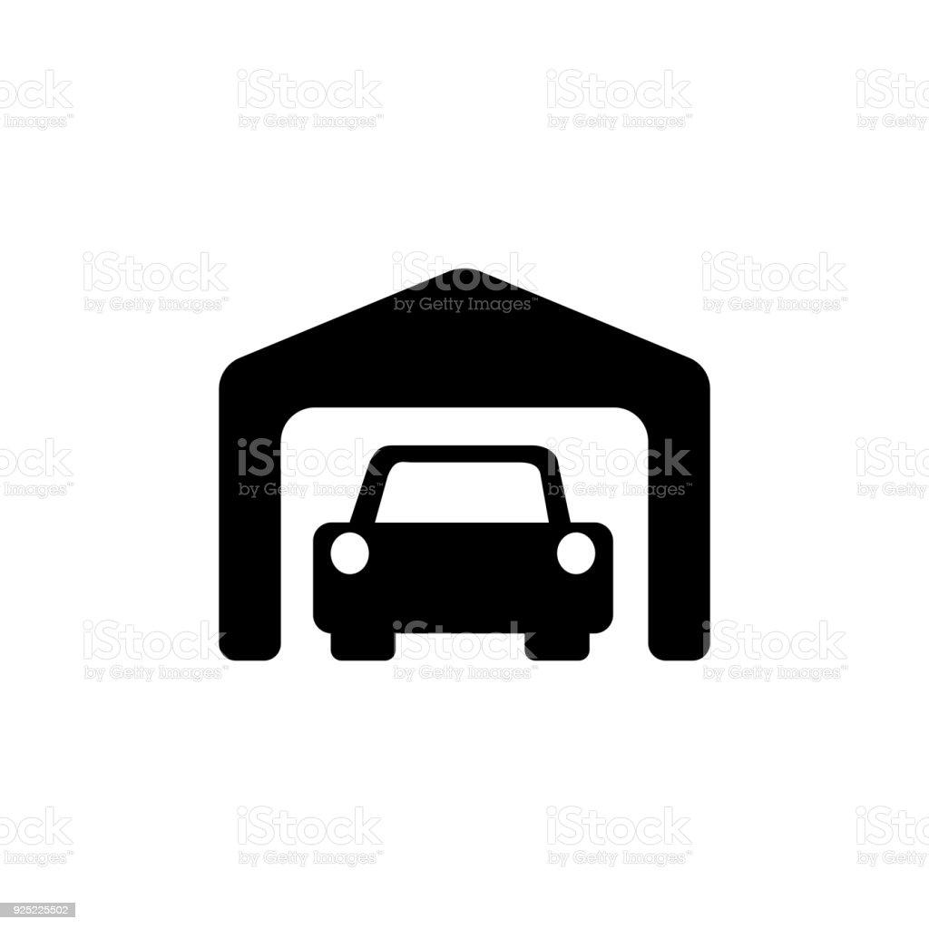 Garage Icon Stock Illustration Download Image Now Istock