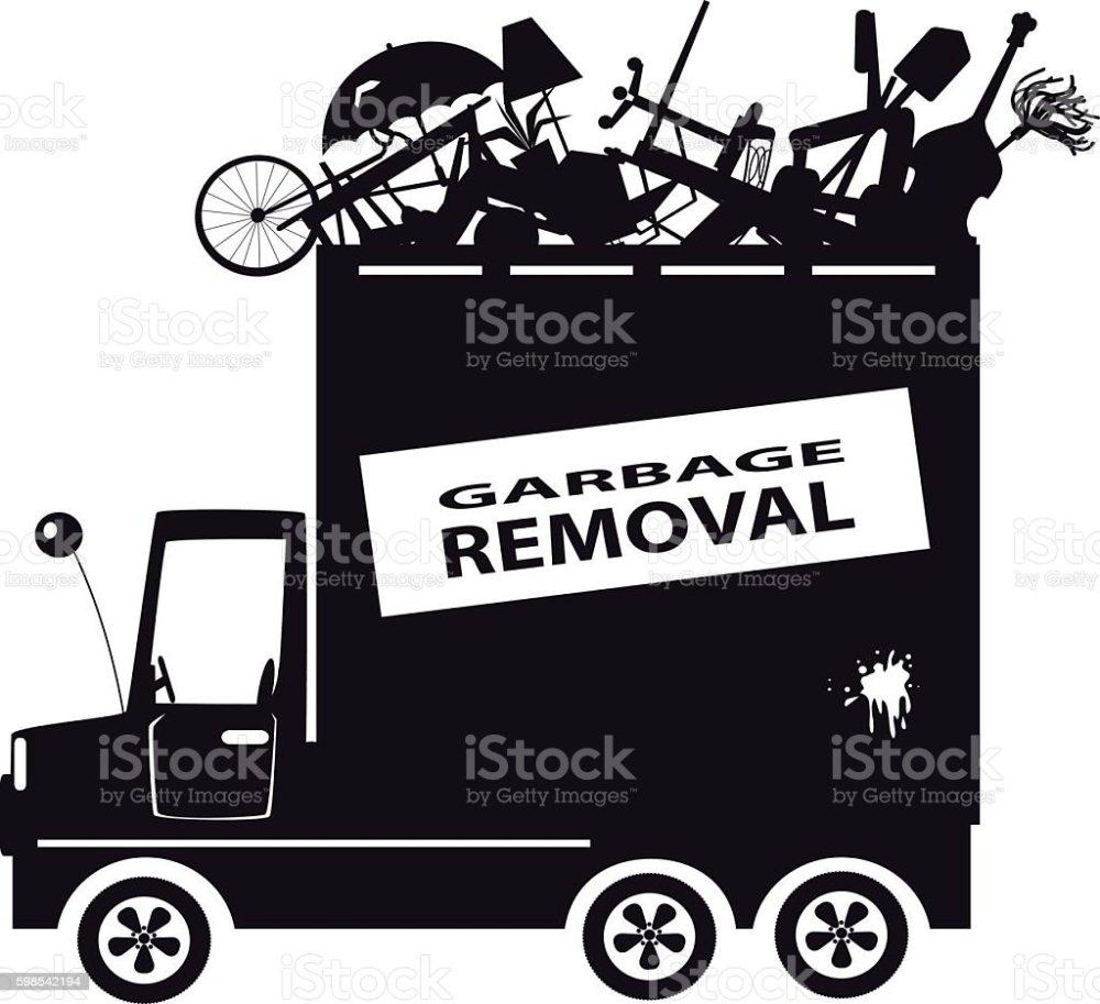 medium resolution of garbage truck clip art ilustraci n de garbage truck clipart y m s vectores libres de derechos