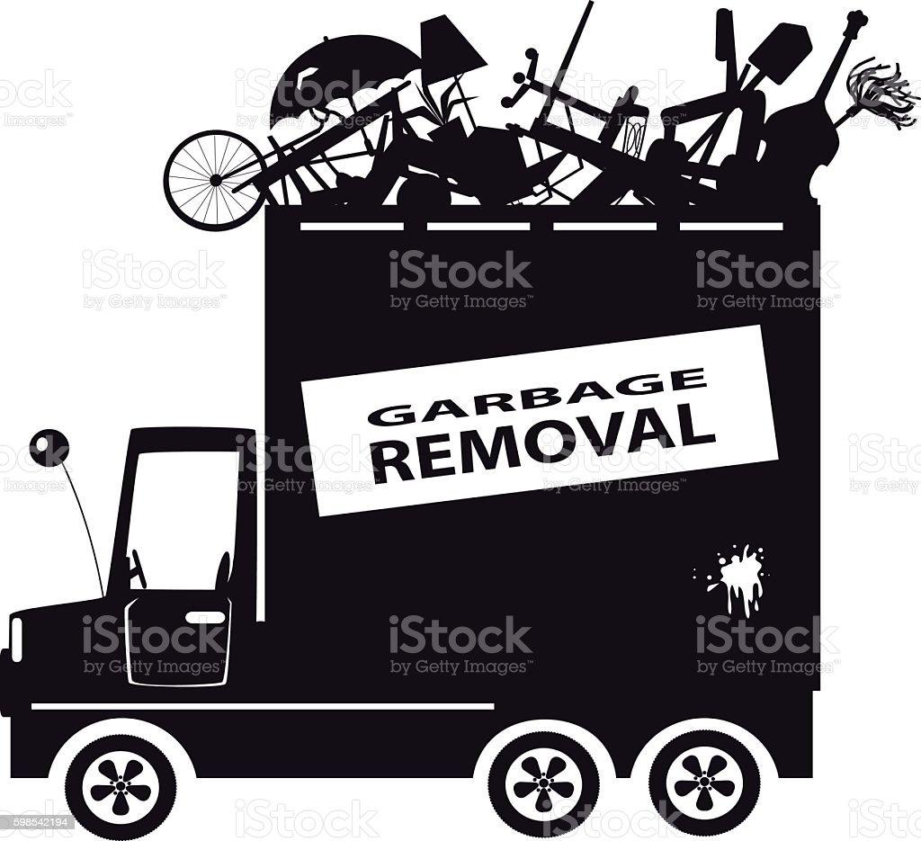 hight resolution of garbage truck clip art ilustraci n de garbage truck clipart y m s vectores libres de derechos