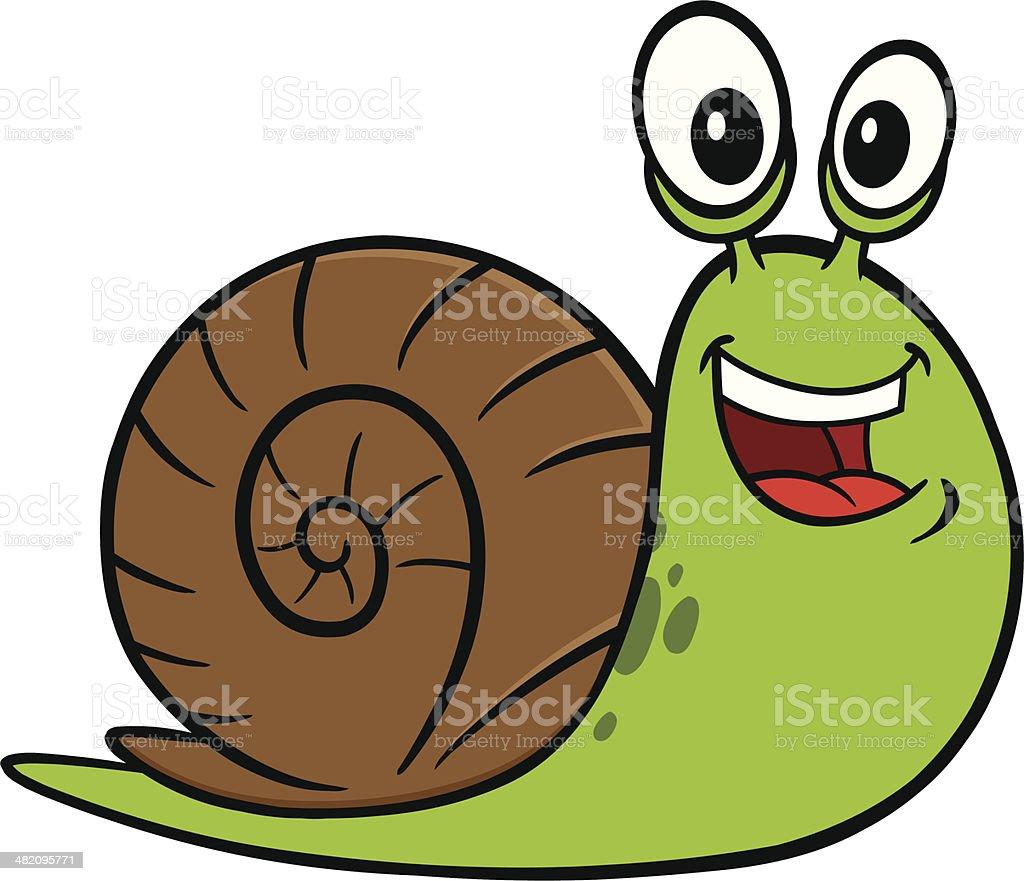royalty free garden snail clip