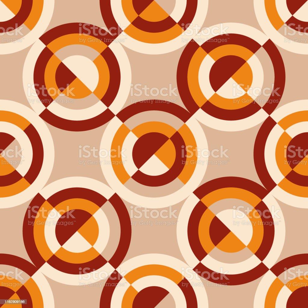 motif de style vintage geometrique des annees 60 ou 70 vecteurs libres de droits et plus d images vectorielles de abstrait istock