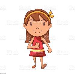 Girl Walking Stock Illustration Download Image Now iStock