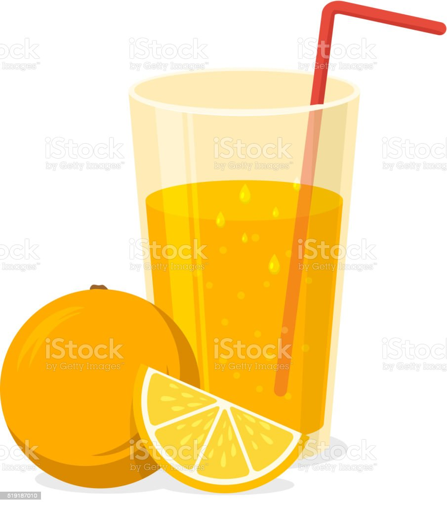 fruit juice illustrations