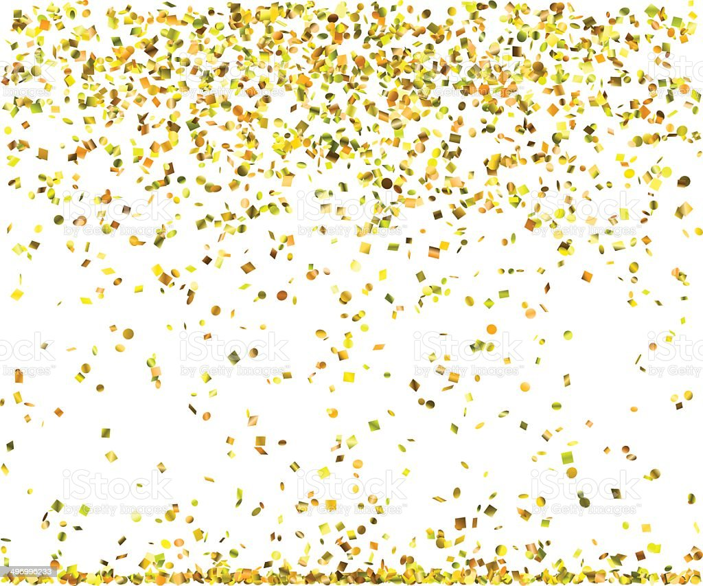 Black And White Polka Dot Wallpaper Border Golden Confetti Stock Vector Art Amp More Images Of Abstract