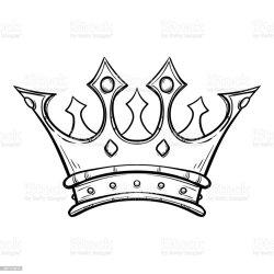 crown king drawn hand drawing golden vector whiteboard cartoon belarus antique award