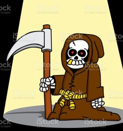 goofy grim reaper royalty free goofy grim reaper stock vector art amp more images [ 877 x 1024 Pixel ]
