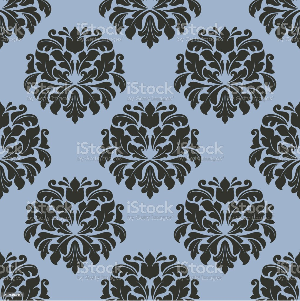 Ricevilo entro venerdì 20 agosto. Gothic Floral Seamless Pattern With Gray Flowers Stock Illustration Download Image Now Istock