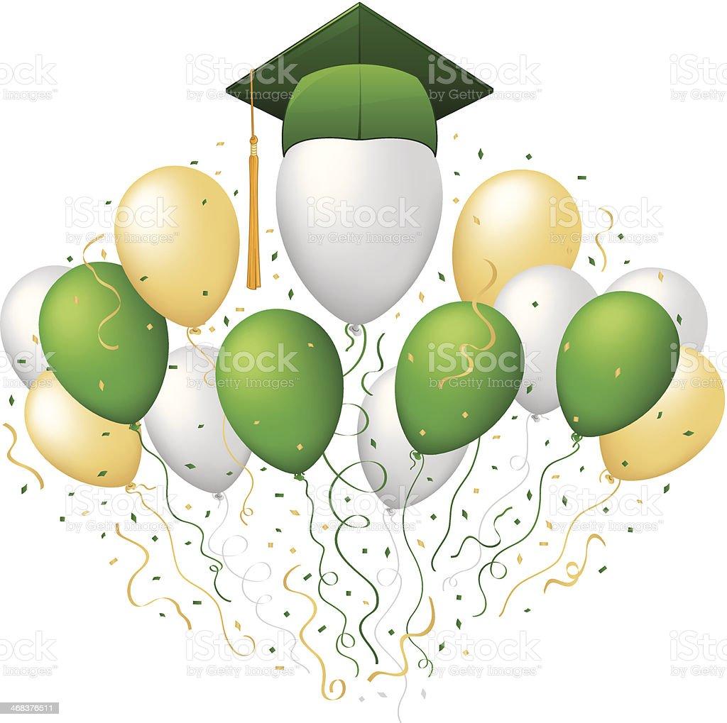graduation balloon clip