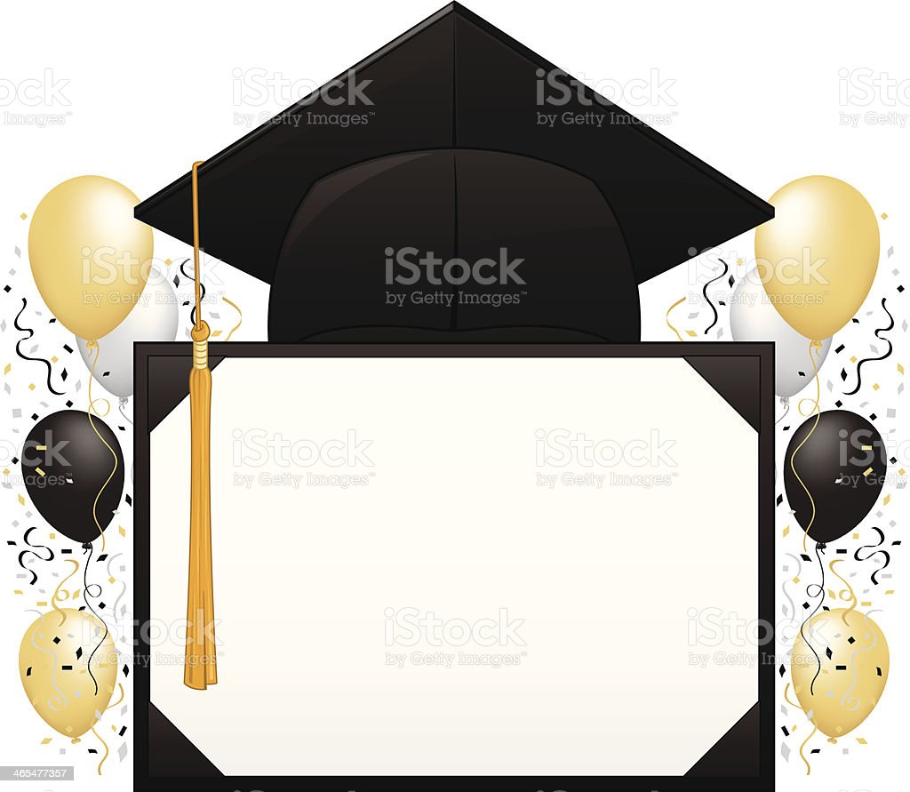 graduation party illustrations