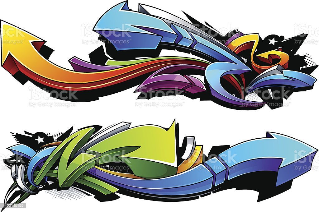 Royalty Free Graffiti Clip Art Vector Images