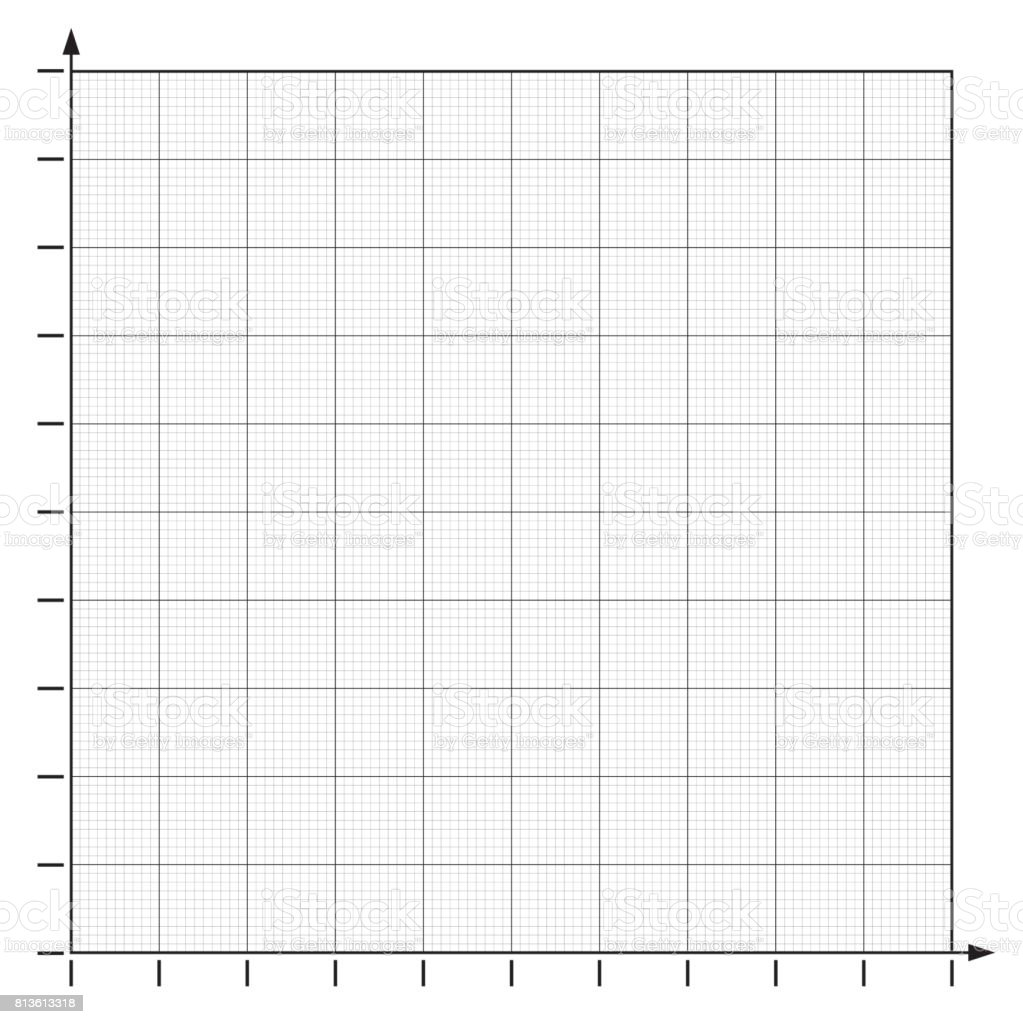 Graph Paper Coordinate Paper Grid Paper Squared Paper Vector Stock Illustration - Download Image Now - iStock