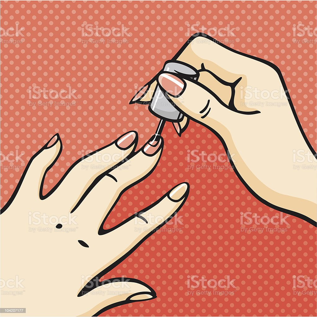 royalty free nail salon clip art