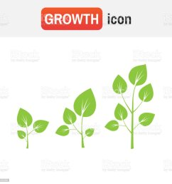 growth tree sign vector tree growth diagram illustration  [ 1024 x 1024 Pixel ]