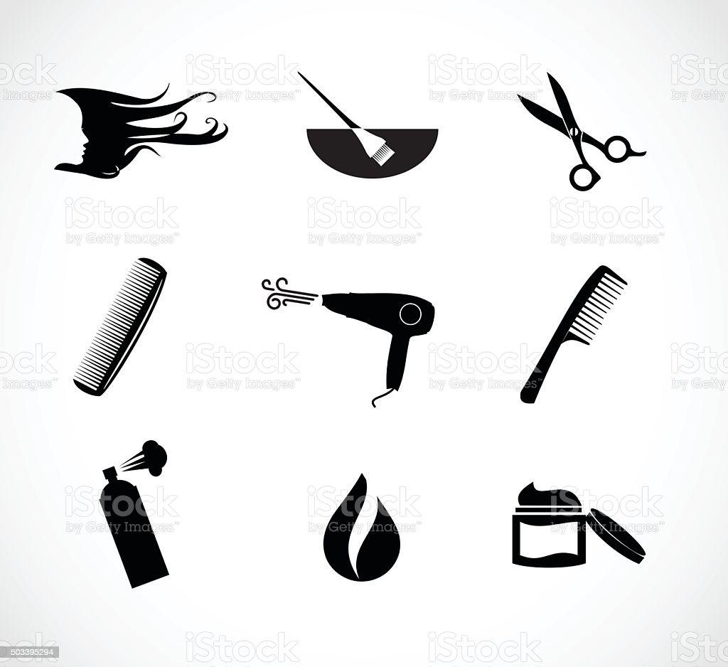 royalty free haircut clip art