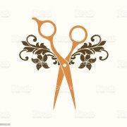 hair salon logo stock vector art