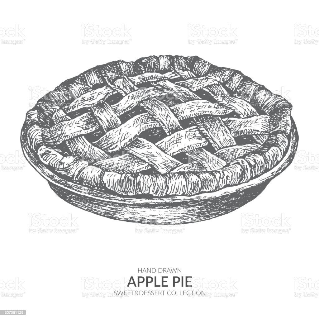 Clip And Art Pie Black White