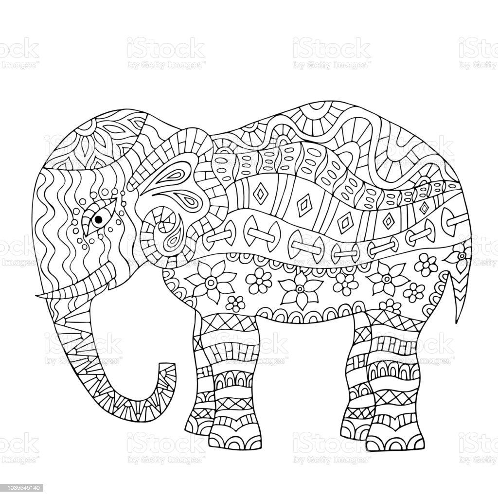 Elefant laufend malvorlage Coloring and Malvorlagan