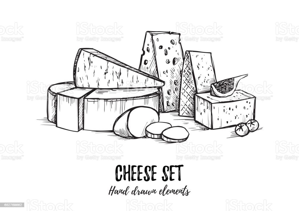 Royalty Free Gouda Cheese Clip Art Vector Images