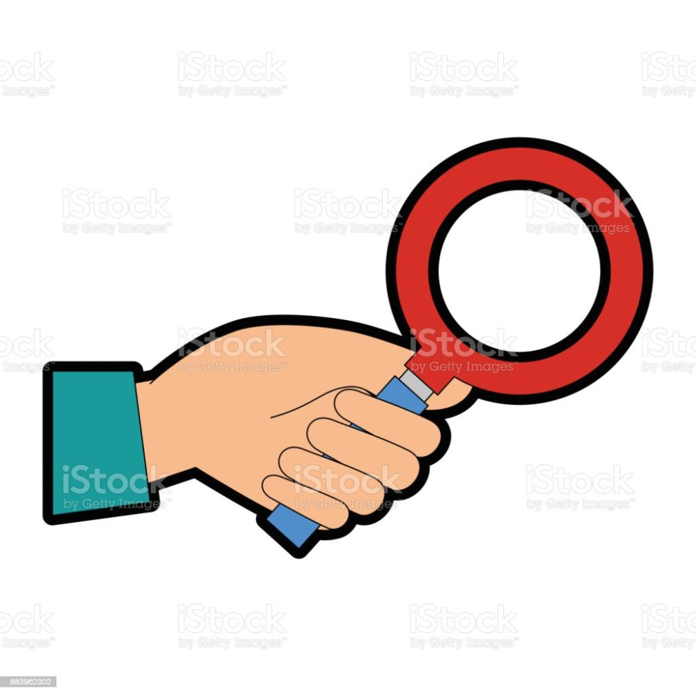medium resolution of hand with search magnifying glass icon royalty free hand with search magnifying glass icon stock