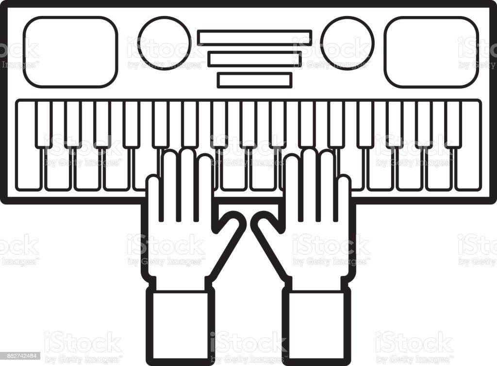 Gun Drawing Using Keyboard