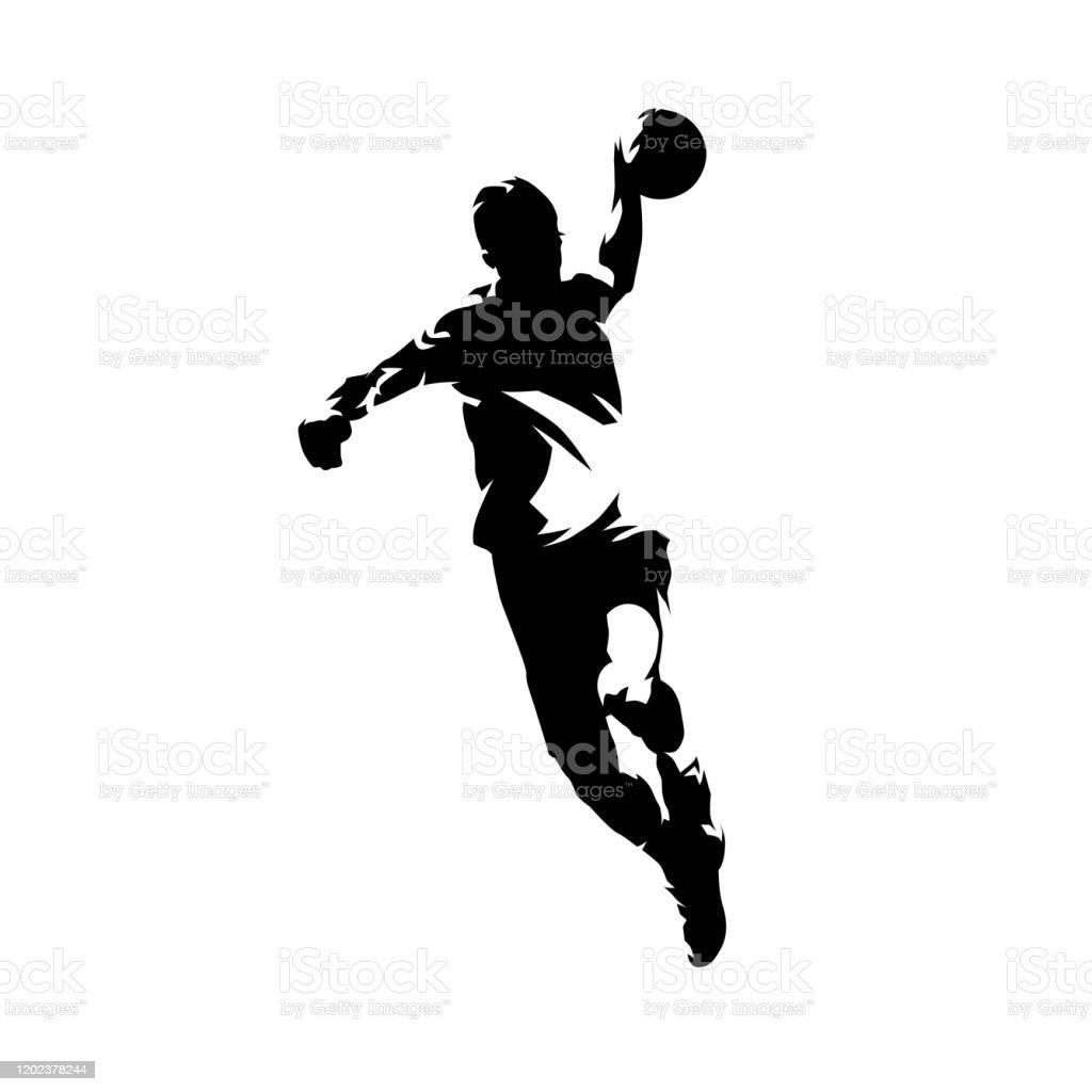 handball illustrationen und vektorgrafiken istock