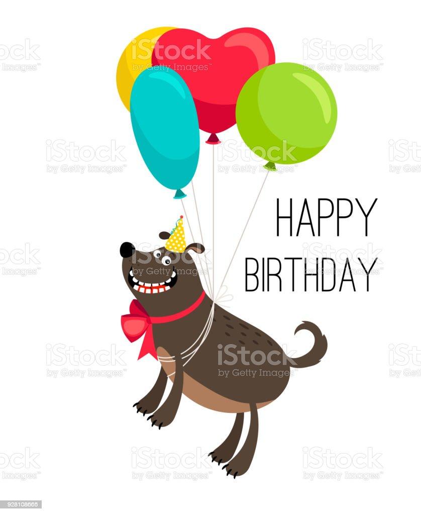 Happy Birthday Dog Clipart : happy, birthday, clipart, Carte, Joyeux, Anniversaire, Chien, Vecteurs, Libres, Droits, D'images, Vectorielles, Animaux, Compagnie, IStock