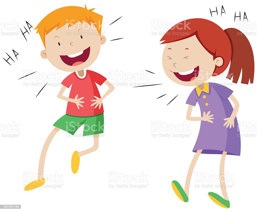 royalty free laugh clip art vector