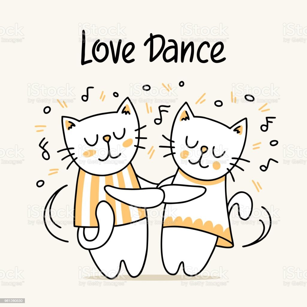 happy cat and kitty