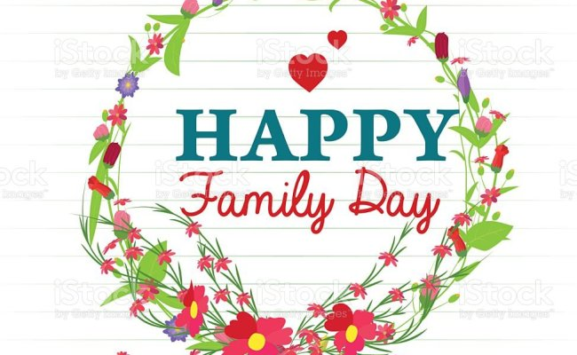 Happy Family Day Stock Illustration Download Image Now