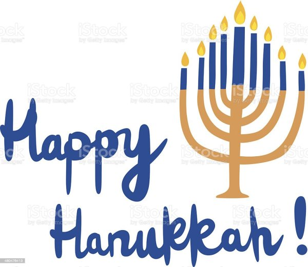happy hanukkah stock vector art