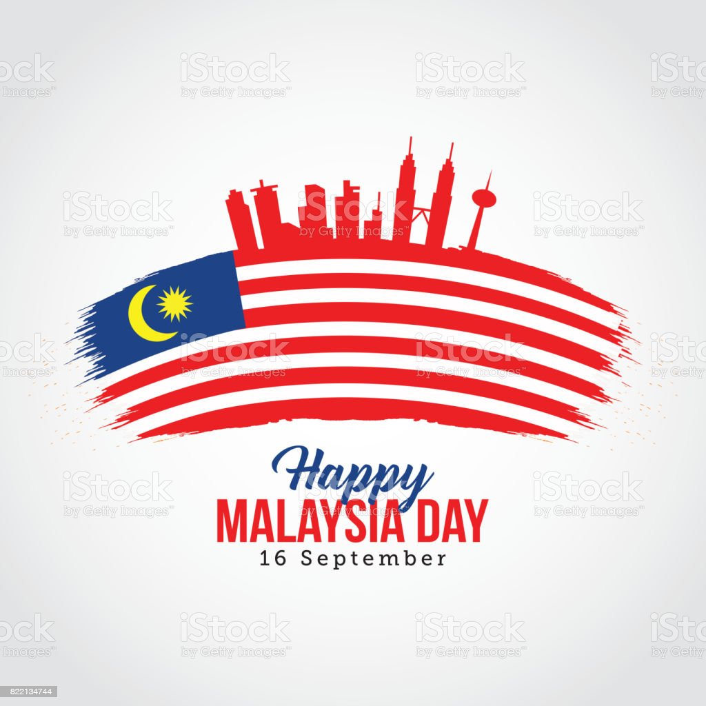 Merdeka Malaysia Illustrations Royalty Free Vector