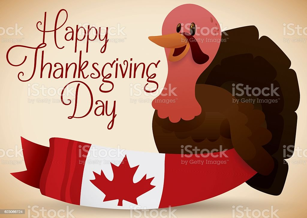 Best Happy Thanksgiving Canada Illustrations Royalty-Free ...