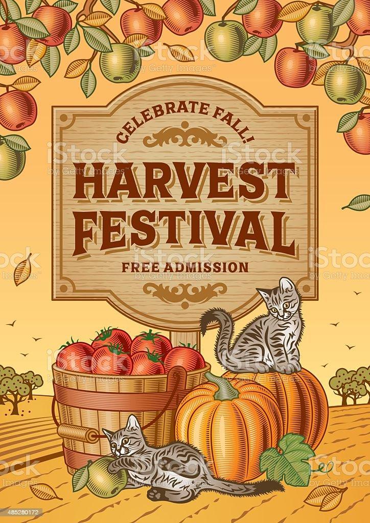 royalty free harvesting clip art