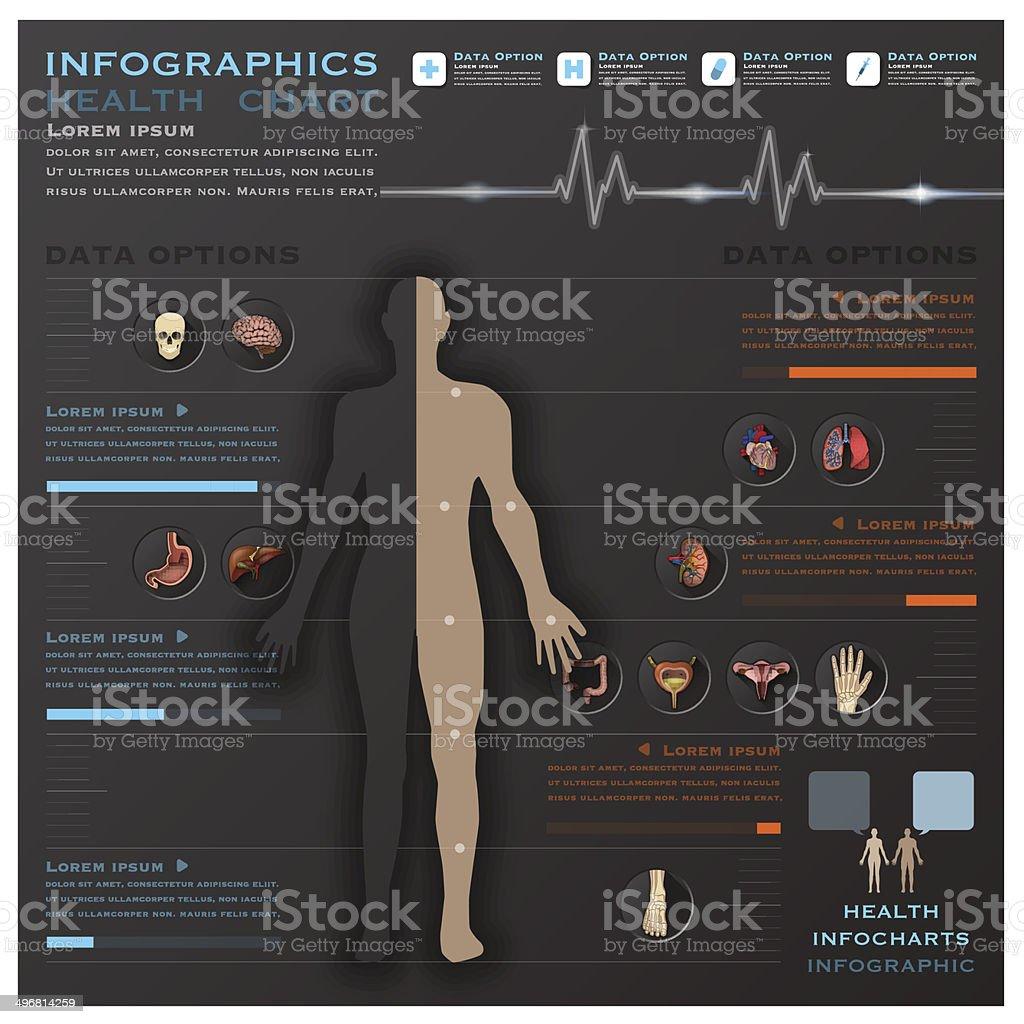 foot pulses diagram hdmi to vga wiring pinout royalty free clip art vector images illustrations